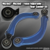 00 01 02 03 04 05 06 07 Ford Focus Rear Adjustable Camber Kit BLUE