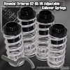 02, 03, 04, 05 HYUNDAI TIBURON JDM ADJUSTABLE COILOVER LOWERING SPRINGS SILVER W/ SCALE