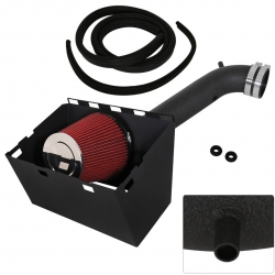 03-08 Dodge Ram 1500 2500 V8 High Air Intake Induction Black Heat Shield