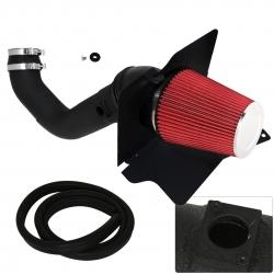 04-05 Silverado 2500 HD 6.6L Air Intake Induction Heat Shield Black Pipe