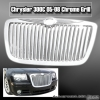 05 06 07 08 CHRYSLER 300C VERTICAL GRILLE CHROME