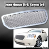 05 06 07 DODGE MAGNUM MESH GRILLE CHROME