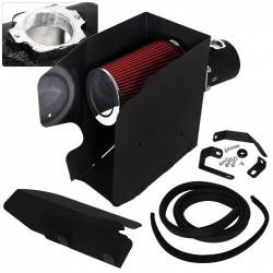 08-10 F250 F350 F450 Superduty Air Intake Induction Heat Shield Black Pipe