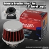 12MM AIR BREATHER WITH CLAMP RED