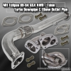 88, 89, 90, 91, 92, 93, 94 Mitsubishi Eclipse GSX AWD / Eagle Talon Turbo Downpipe and Elbow Outlet Pipe