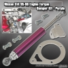 95 96 97 98 NISSAN 240SX S14 ENGINE TORQUE DAMPER MOUNTING KIT PURPLE