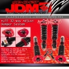 JDM SPORT 02 03 04 05 06 07 SUBARU WRX GDB FULLY ADJUSTABLE SUSPENSION DAMPER RED COILOVER SYSTEM