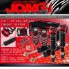 JDM SPORT 04 05 06 SCION XA / XB FULLY ADJUSTABLE SUSPENSION DAMPER RED COILOVER SYSTEM
