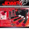 JDM SPORT 08 09 10 11 NISSAN 370Z Z34 FULLY ADJUSTABLE SUSPENSION DAMPER RED COILOVER SYSTEM