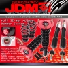 JDM SPORT 2011-14 LEXUS CT200H ADJUSTABLE SUSPENSION DAMPER RED COILOVER SYSTEM