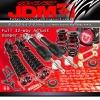 JDM SPORT 2012-14 CIVIC 2DR 4DR ADJUSTABLE SUSPENSION DAMPER RED COILOVER SYSTEM