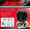 JDM SPORT 38MM SUPER RIBBED EXTERNAL WASTEGATE BLACK