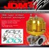 JDM SPORT 38MM SUPER RIBBED EXTERNAL WASTEGATE GOLD