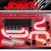 JDM SPORT 88 89 90 91 92 93 94 95 96 97 98 99 00 HONDA CIVIC BOLT ON PIPING KIT W/ FRONT MOUNT INTERCOOLER