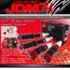 JDM SPORT 89 90 91 92 93 94 95 96 97 98 99 00 01 02 03 04 05 MAZDA MIATA FULLY ADJUSTABLE SUSPENSION DAMPER RED COILOVER SYSTEM