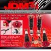 JDM SPORT 92 93 94 95 96 97 98 99 00 01 HONDA PRELUDE FULLY ADJUSTABLE SUSPENSION DAMPER RED COILOVER SYSTEM