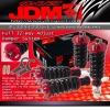 JDM SPORT 96 97 98 99 00 HONDA CIVIC FULLY ADJUSTABLE SUSPENSION DAMPER RED COILOVER SYSTEM