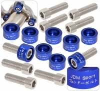 JDM SPORT BLUE HEADER WASHER KITS
