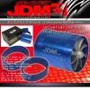 "JDM SPORT ECONOMIC JDM INTAKE FUEL SAVER 2.5"" DUAL FANS - BLUE"