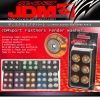 JDM SPORT FENDER WASHER M8 RACING FASTNERS GOLD 6 PCS
