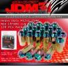 JDM SPORT M12 X 1.25MM HEAVY DUTY STEEL OPEN END EXTENDED LUG NUTS NEO CHROME 20PCs