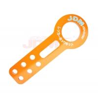 JDM Sport Universal Front Tow Hook Kit Orange