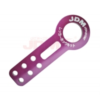 JDM Sport Universal Front Tow Hook Kit Purple