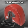 TURBO HEAT SHIELD BLANKET T3 / T25 / T28 / GT25 / GT28 / GT30 / GT32 / GT35 / GT37 RED