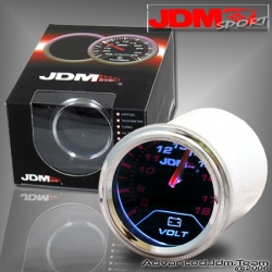 """JDM SPORT 52MM Voltage Tinted 2"""" Gauge"""