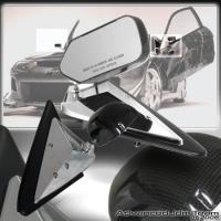 88 89 90 91 Honda Civic Crx F1 Formula Real Carbon Fiber Mirrors