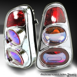 02 03 04 MINI COOPER ION TAIL LIGHTS CHROME