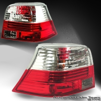 99 00 01 02 03 04 VOLKSWAGEN GOLF GTI ALTEZZA TAIL LIGHTS CHROME
