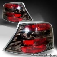 99 00 01 02 VOLKSWAGEN GOLF IV TAIL LIGHTS SMOKED 4 DOOR