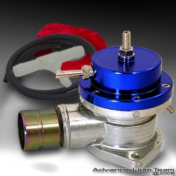 UNIVERSAL JDM Greddy TYPE S STYLE TURBO BLOW OFF VALVE BLUE TOP