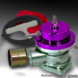 UNIVERSAL JDM Greddy TYPE S STYLE TURBO BLOW OFF VALVE PURPLE TOP