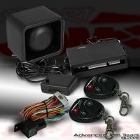 UNIVERSAL JDM ALARM SECURITY SYSTEM WITH CARBON FIBER KEYS