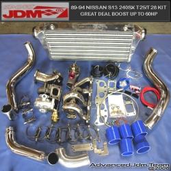 NISSAN 240SX T25/T28 SR20DET JDM SPORTS TURBO KIT