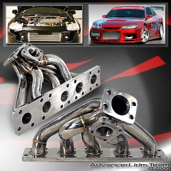 JDM SPORTS AUDI 2.2L 20V S2 S4 K26 STAINLESS STEEL TURBO MANIFOLD