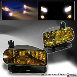 02 03 04 05 CADILLAC ESCALADE JDM FOG LIGHTS AMBER