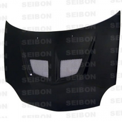00 01 02 DODGE NEON SEIBON EVO STYLE CARBON FIBER HOOD