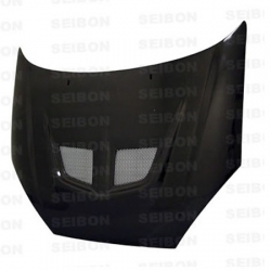 00 01 02 03 04 FORD FOCUS SEIBON EVO STYLE CARBON FIBER HOOD