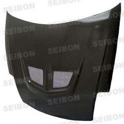 00 01 02 03 04 05 MITSUBISHI ECLIPSE SEIBON EVO STYLE CARBON FIBER HOOD