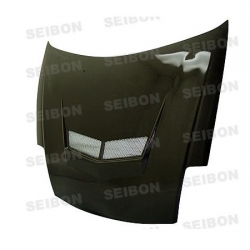 00 01 02 03 04 05 MITSUBISHI ECLIPSE SEIBON VSII STYLE CARBON FIBER HOOD