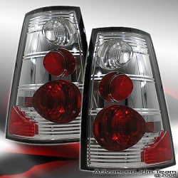 02 03 04 05 FORD EXPLORER SPORT TRAC ALTEZZA TAIL LIGHTS CHROME