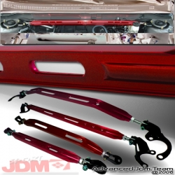 93 94 95 96 97 HONDA DEL SOL 4 PIECE STRUT BAR COMBO