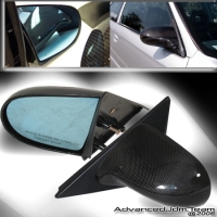 92 93 94 95 HONDA CIVIC 2/3 DOORS NON-POWER WINDOWS MODEL CARBON FIBER SPOON MIRROR