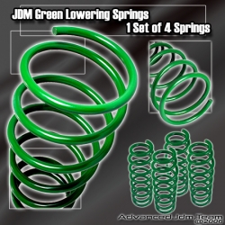 00 01 02 03 04 TOYOTA CELICA JDM LOWERING SPRINGS GREEN