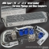 JDM SPORTS 03 04 05 06 MITSUBISHI LANCER EVO VIII IX TURBO SMALL INTERCOOLER WITH PIPING KIT