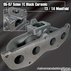 05 06 07 08 SCION TC 2.4L 2AZ-FE ENGINE CAST IRON T3/T4 TURBO MANIFOLD