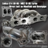 JDM SPORTS CT26 STOCK TURBO / 91 92 93 94 95 TOYOTA MR2 TURBO / CELICA 88 89 90 91 92 93 94 95 96 GT4 ALL TRAC TURBO MANIFOLD WITH DOWNPIPE